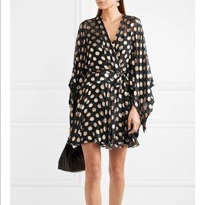 NWT Zimmermann silk sz 1/ small Folly kimono dress